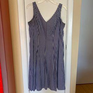 Nine West Gingham Dress